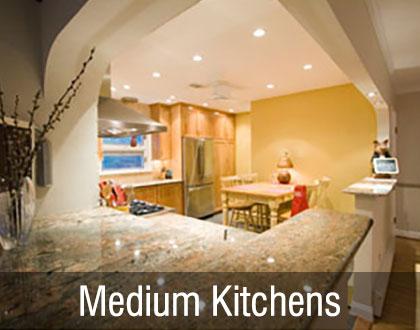 Medium Kitchens